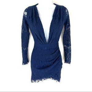 Xenia Women's Blue Dress 6 NWT
